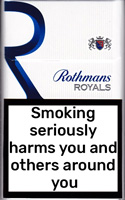 ROTHMANS ROYALS KS BLUE cigarettes 10 cartons
