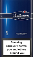 ROTHMANS DEMI BLUE CIGARETTES 10 CARTONS