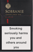 SOBRANIE KS SS BLACK (MINI) cigarettes 10 cartons