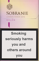 SOBRANIE KS SS GOLD (MINI) cigarettes 10 cartons