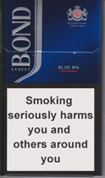 BOND STREET SMART BLUE 6 cigarettes 10 cartons