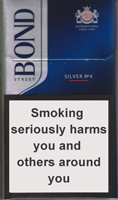 BOND STREET SMART SILVER 4 cigarettes 10 cartons