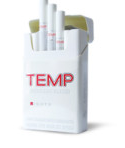 Temp Silver Cigarettes 10 cartons
