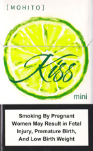 KISS MOHITO (MINI) cigarettes 10 cartons