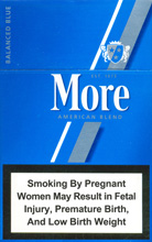 More Lights (Balanced Blue) Cigarettes 10 carton