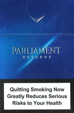 PARLIAMENT RESERVE NANOKINGS (MINI) cigarettes 10 cartons