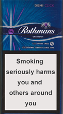 ROTHMANS DEMI CLICK PURPLE CIGARETTES 10 CARTONS