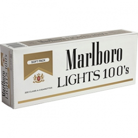 Marlboro Lights 100s Cigarettes 10 Cartons Marlboro Lights 100s