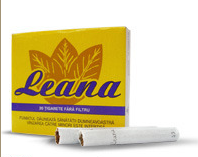 Leana Non-Filter Cigarettes 10 cartons