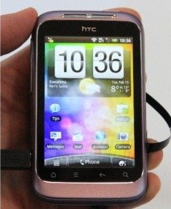 HTC Wildfire S A510e Touch Unlocked Mobile Phone