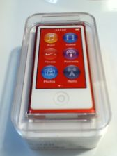 Apple iPod nano 7th Generation Red Special Edition 16 GB MD744LL